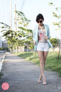 Beige-reecn-top-aquamarine-lemon-online-blazer-white-f-x-shorts