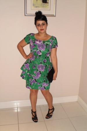 Patricia Feild dress - Target Australia shoes - vintage