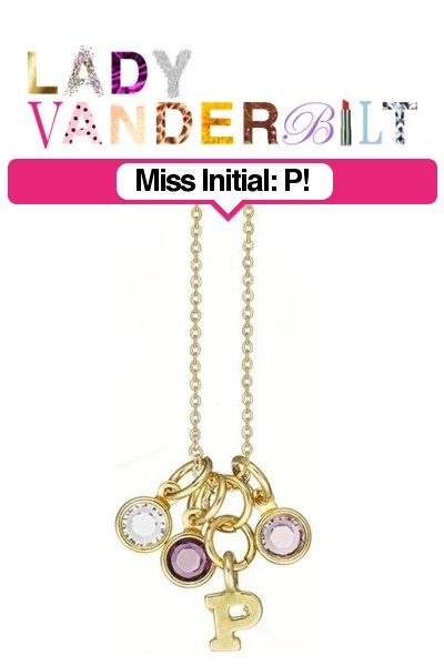 purple LADY VANDERBILT necklace