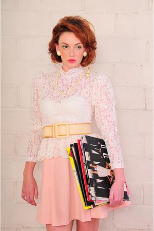 la vintage top - la vintage belt - la vintage intimate - la vintage skirt
