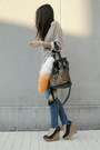 Black-wedges-zara-shoes-tan-zara-sweater-tawny-leopard-yesstyle-bag-carrot