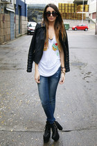white High Heels Suicide shirt