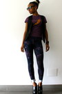 Deep-purple-asos-leggings-deep-purple-vintage-t-shirt-black-h-m-vest