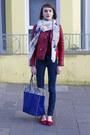 Club-monaco-jacket-alexander-mcqueen-scarf-kurt-geiger-bag
