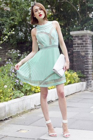 Three Floor dress - Kurt Geiger bag - Aldo sandals - swarovski ring