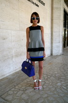 Mulberry bag - Tibi skirt - Tibi top - Aldo sandals
