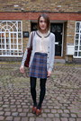 Radley-london-bag-vintage-skirt-sister-jane-blouse-uniqlo-cardigan