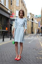 Carven dress - acne shoes - Rocio bag