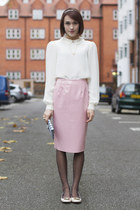 PVC Pencil Skirt: Preppy