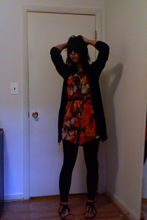 H&amp;M sweater - Double zero dress - Urban Outfitters shoes