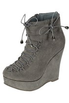 Booties Naturebreez - grey