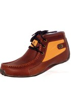 Men Booties - Leather Ecko UNTLD