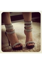 Black-evening-shoes-sandals