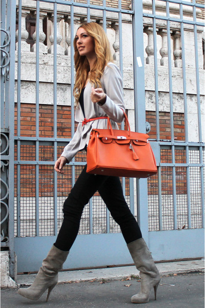 Similar Hermes bag - cinti shoes - Bershka jeans - H&amp;M blazer