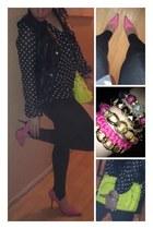 shoes - blouse