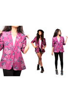 pink vintage blazer