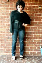 Witchery top - Jag jeans - belt - Big W shoes