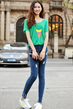 MixMosscom jeans - MixMosscom top