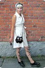 Black-modcloth-bag-off-white-warehouse-dress-neutral-random-tights