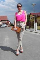 Zara pants - ISLO bag - Mango sunglasses - Zara top - Accessorize belt