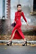 red BangGood dress