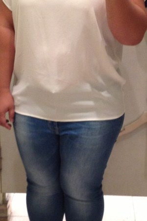 chiffon Forever21 blouse - Furla bag - bow Forever 21 flats - Pimkie pants