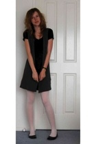Tokito dress - cotton on vest - tights - rubi shoes