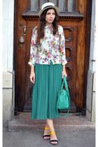 green Tina R shirt