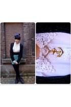 vintage scarf - doc martens boots - vintage blouse - Dunnes skirt