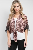 In Love With an Ikat Ombre Top