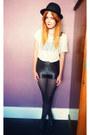 Black-disco-glamorous-shorts