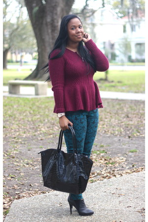 H&M sweater - asos jeans - Michael Kors watch