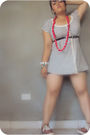 White-tommy-hilfiger-dress-black-chanel-belt-red-keds-shoes-white-accessor