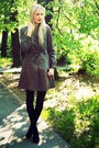 Dark-brown-h-m-coat-black-h-m-tights-black-super-street-shoes-heels