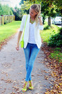 Blue-h-m-jeans-white-h-m-blazer-white-lovelywholesale-watch