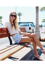Blue-h-m-shorts-black-clockhouse-sunglasses-white-deichmann-sandals