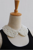 white CrossWoodStore necklace