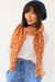 polka dots CrossWoodStore scarf