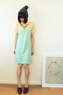 Light-blue-shirt-dress-fred-perry-dress