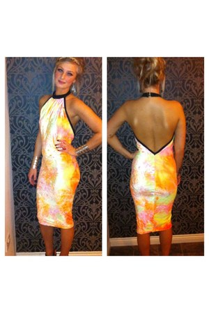 yellow mcIvers dress