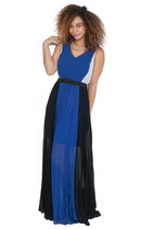 Harmony Color Block Maxi Dress