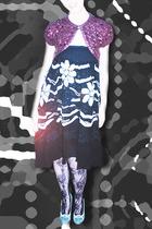 nanette laporte - skirt - stockings -