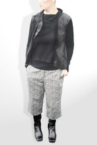 Atsuro by Tayama - James Perse top - John Galliano pants - vintage