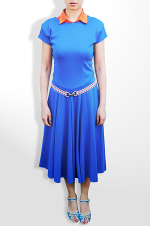 dress - Bruno belt - - FabylRobin