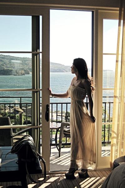 beige f21 dress - tan saumur Louis Vuitton bag - neutral Jeffrey Campbell heels