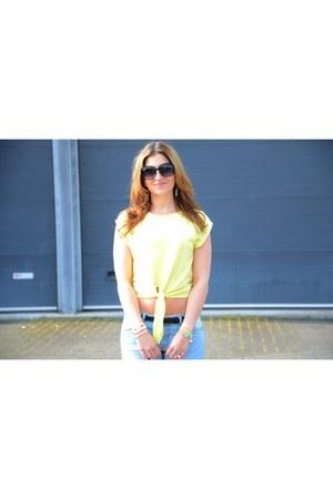 Zara top - Primark jeans