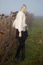 Heather-gray-handmade-bag-black-monki-skirt-cream-h-m-cardigan