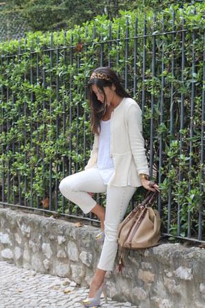 Zara coat - BLANCO shoes - H&M bag - Zara pants