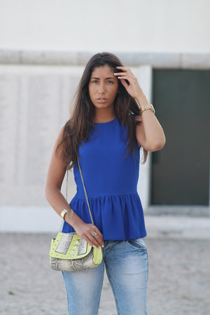 Zara top - H&M bag - Zara sandals