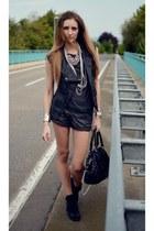 black Graceland sneakers - gray H&M shorts - charcoal gray H&M t-shirt